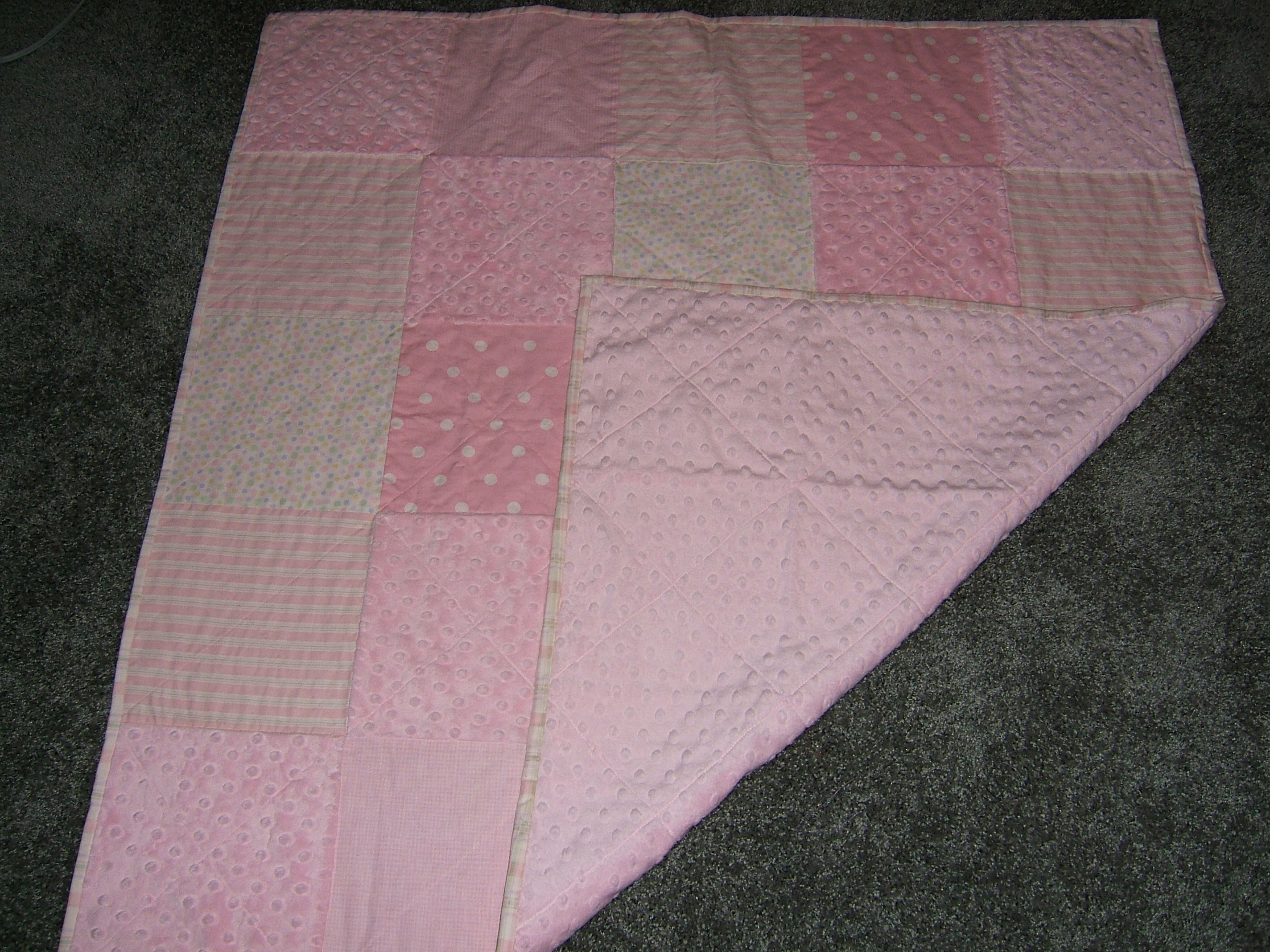 Baby Rooms by Nana, Mary Seibolt, Custom Embroidered Baby Quilt and Blankets