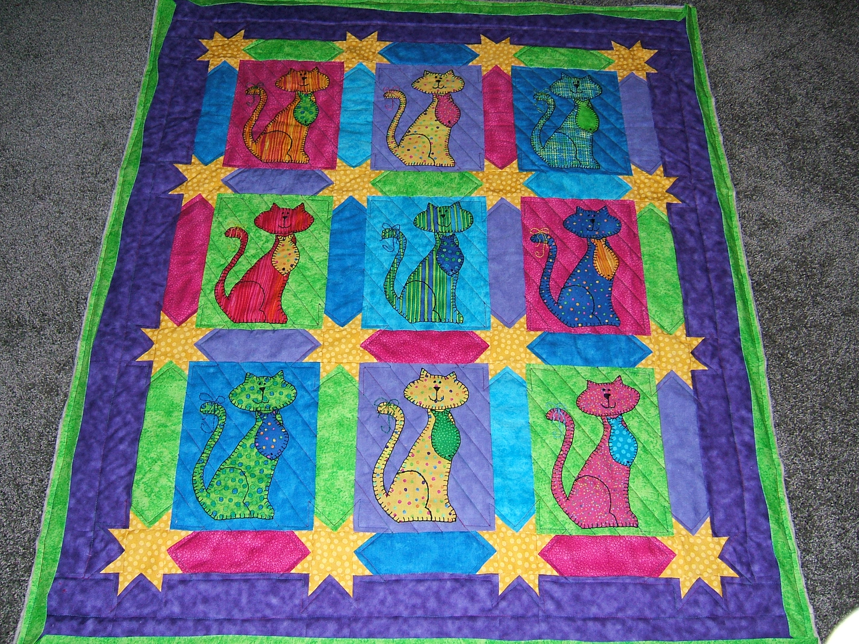 Baby Rooms by Nana. Mary Seibolt, Custom Quilting