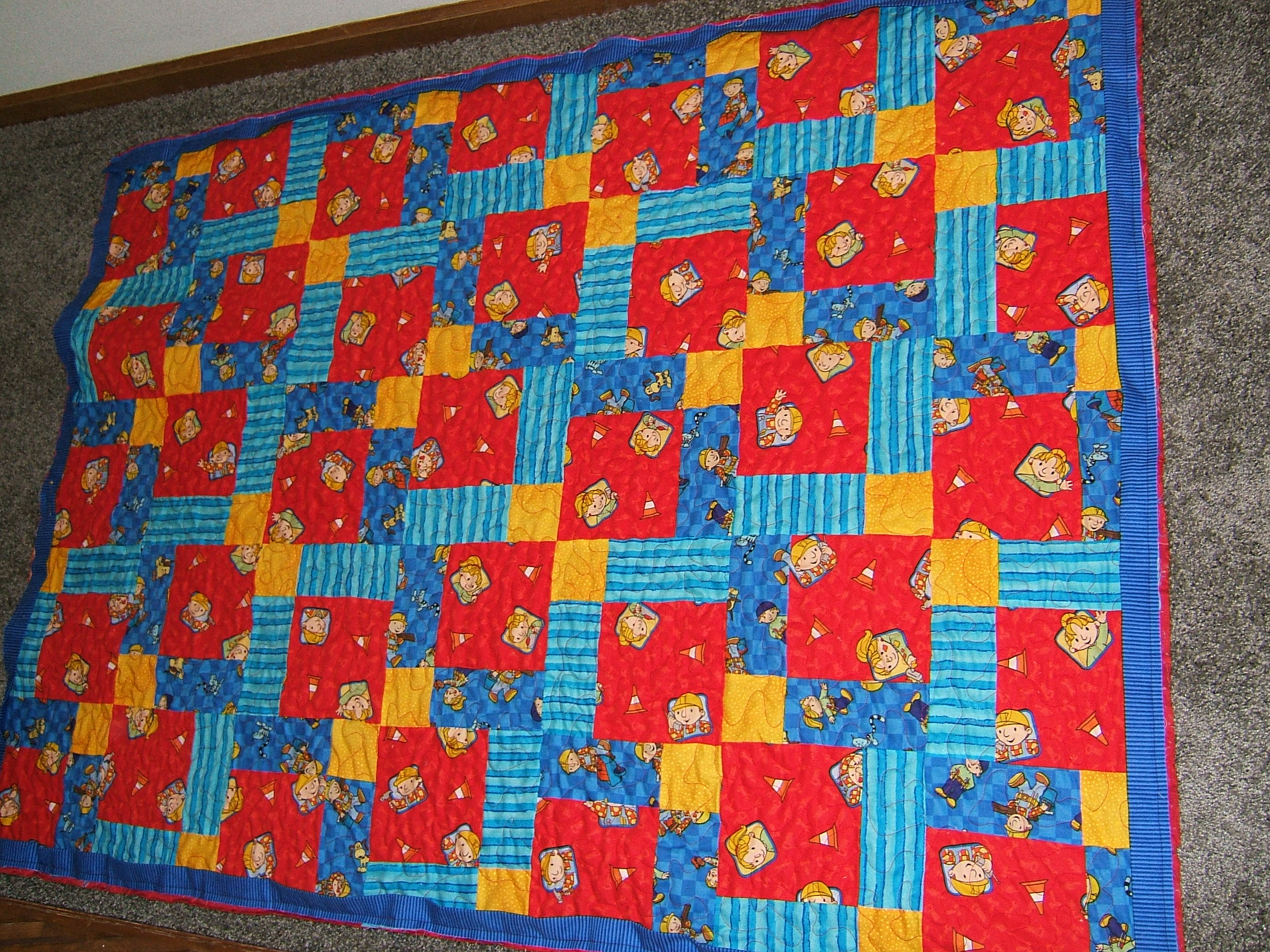 Baby Rooms by Nana, Mary Seibolt, Custom Quilting